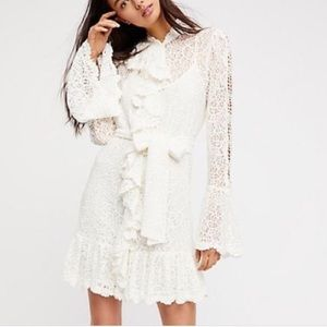 Free People Dreams a Of You Mini Dress NWOT Size S
